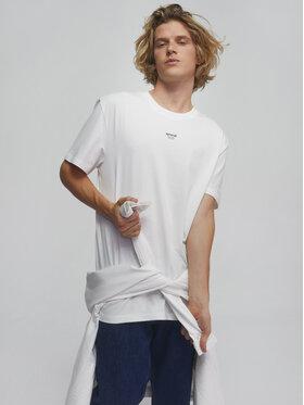 Sprandi Sprandi T-Shirt SS21-TSM007 Biały Regular Fit