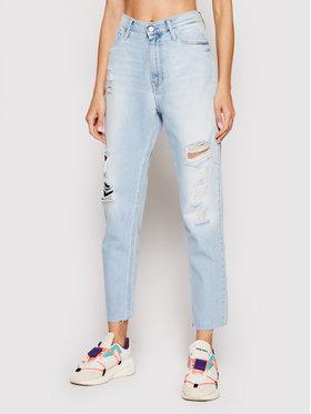Calvin Klein Jeans Calvin Klein Jeans Traperice J20J217150 Plava Mom Fit