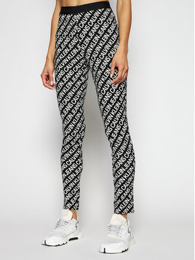 Calvin Klein Jeans Calvin Klein Jeans Legginsy J20J216097 Czarny Slim Fit
