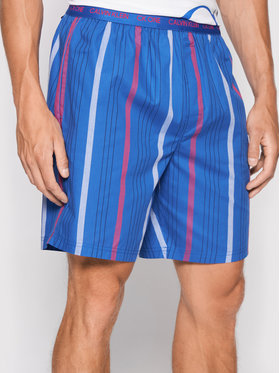 Calvin Klein Underwear Calvin Klein Underwear Pyžamové kalhoty 000NM1868E Modrá