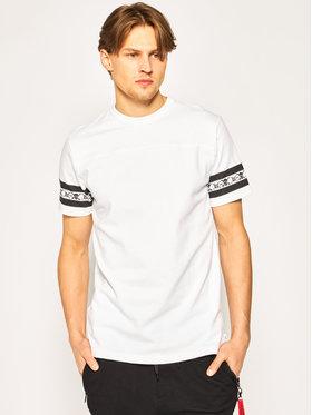 Vans Vans Marškinėliai Anaheim Factory VN0A49S1WHT1 Balta Regular Fit