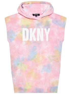 DKNY DKNY Každodenné šaty D32780 S Ružová Regular Fit