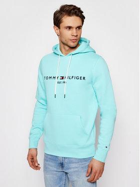 Tommy Hilfiger Tommy Hilfiger Mikina Logo MW0MW11599 Modrá Regular Fit