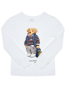 Polo Ralph Lauren Polo Ralph Lauren Bluză Ls Cn 323805681001 Alb Regular Fit