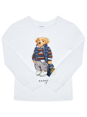 Polo Ralph Lauren Polo Ralph Lauren Μπλουζάκι Ls Cn 323805681001 Λευκό Regular Fit