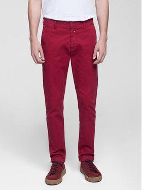 Vistula Vistula Spodnie materiałowe Flint XA0615 Czerwony Regular Fit