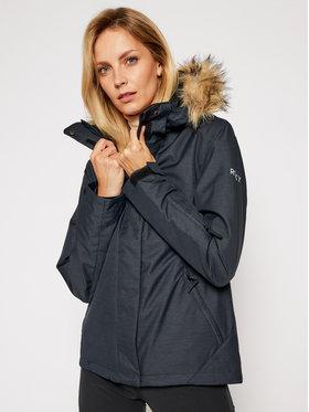 Roxy Roxy Snowboard kabát Jet Ski Solid ERJTJ03266 Szürke Slim Fit