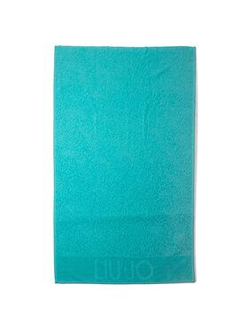 Liu Jo Liu Jo Ręcznik Telo Spugna Jacquar VA0206 T0300 Niebieski