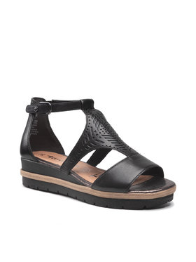 Tamaris Tamaris Sandále 1-28228-26 Čierna