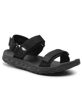 4F 4F Sandále H4L21-SAM001 Čierna