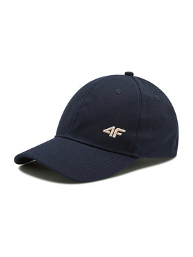 4F 4F Kepurė su snapeliu H4L21 CAD004 Tamsiai mėlyna