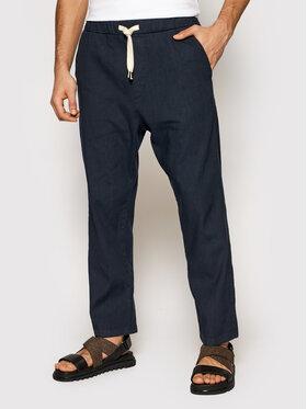 Imperial Imperial Spodnie materiałowe PD2UBJWTD Granatowy Regular Fit