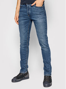 United Colors Of Benetton United Colors Of Benetton Jeansy 4DHH57BC8 Granatowy Regular Fit
