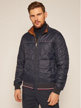 TOMMY HILFIGER TOMMY HILFIGER Яке бомбър Reversible Onion Quilted MW0MW14879 Цветен Regular Fit