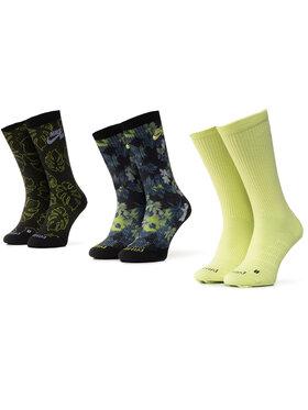 NIKE NIKE Sada 3 párů dámských vysokých ponožek SK0041 902 Barevná