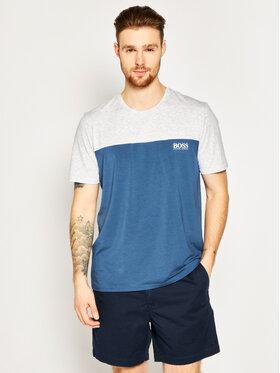 Boss Boss Marškinėliai Balance RN 50424940 Tamsiai mėlyna Regular Fit