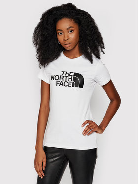 The North Face The North Face Marškinėliai Easy Tee NF0A4T1QFN41 Balta Slim Fit