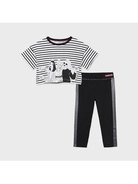 Mayoral Mayoral Set T-Shirt und Leggings 6731 Schwarz Regular Fit