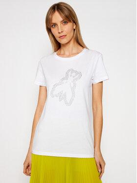 Patrizia Pepe Patrizia Pepe T-shirt 8M1191/A4V5-W103 Bijela Regular Fit