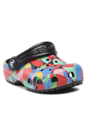 Crocs Crocs Papucs Classic Bubble Block Clog Kids 207320 Színes