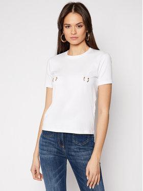 Elisabetta Franchi Elisabetta Franchi T-Shirt MA-18N-11E2-V120 Bílá Regular Fit