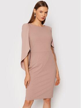 Rinascimento Rinascimento Koktejlové šaty CFC0105059003 Ružová Regular Fit