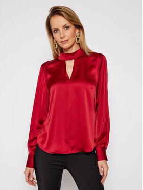 DKNY DKNY Блуза P0JAVHOQ Бордо Regular Fit