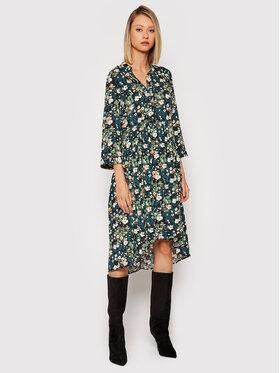 Vero Moda Vero Moda Košilové šaty Phoebe 10250053 Zelená Regular Fit