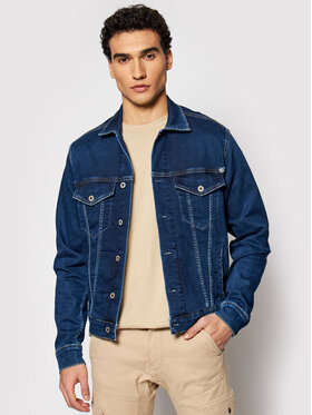 Pepe Jeans Pepe Jeans Jeansová bunda GYMDIGO Pinner PM400908 Tmavomodrá Regular Fit