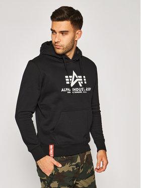 Alpha Industries Alpha Industries Sweatshirt Basic 178312 Noir Regular Fit