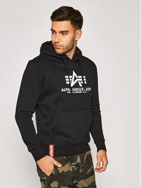 Alpha Industries Alpha Industries Sweatshirt Basic 178312 Schwarz Regular Fit