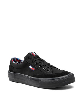 Tommy Jeans Tommy Jeans Tenisówki Skate Vulc Tjm EM0EM00735 Czarny