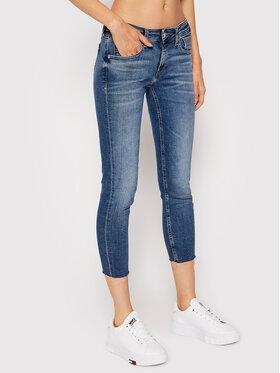 Tommy Jeans Tommy Jeans Džínsy Scarlett DW0DW09469 Tmavomodrá Skinny Fit