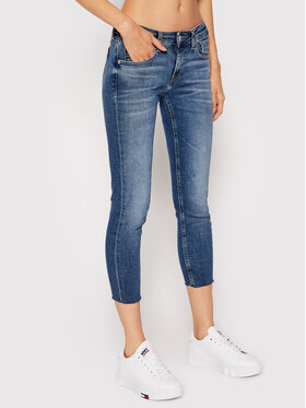 Tommy Jeans Tommy Jeans Jeansy Scarlett DW0DW09469 Tmavomodrá Skinny Fit
