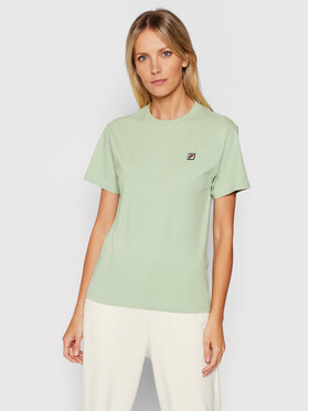 Fila Fila T-Shirt Nova 689132 Zielony Regular Fit