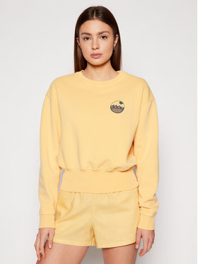 Roxy Roxy Sweatshirt Radio Silence B ERJFT04243 Gelb Regular Fit