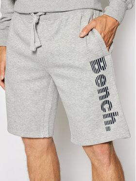 Bench Bench Pantaloncini sportivi Rollo 117207 Grigio Regular Fit