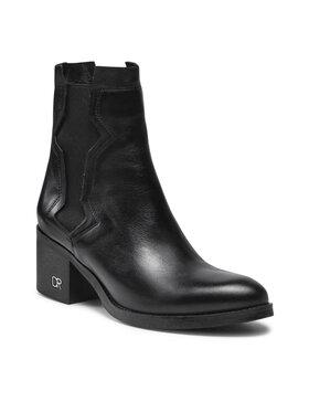 Carinii Carinii Členková obuv B7623 Čierna