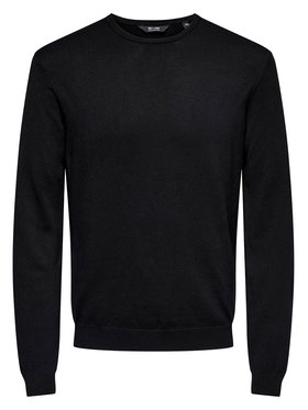 Only & Sons ONLY & SONS Sweater Wyler 22020088 Fekete Regular Fit