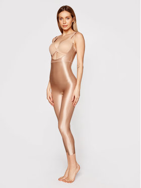 SPANX SPANX Kombinezon modelujący Suit Your Fancy 10155R Beżowy
