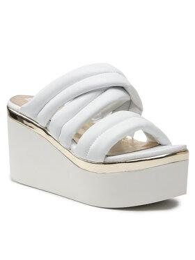 Carinii Carinii Mules / sandales de bain B7109 Blanc