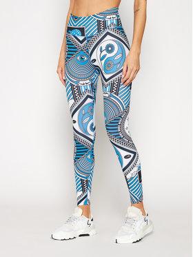 Nike Nike Legíny One CJ3898 Modrá Slim Fit