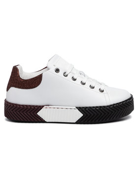 Pollini Sneakersy SA15143G08TX2100 Biela