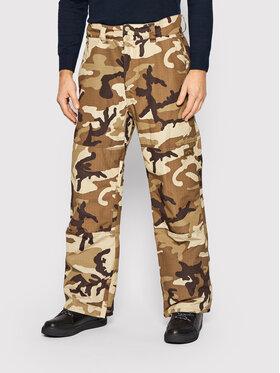 Billabong Billabong Pantaloni da sci Tuck Knee U6PM23BIF0 Marrone Relaxed Fit