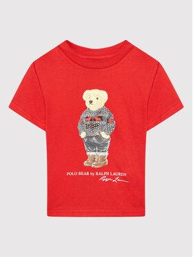 Polo Ralph Lauren Polo Ralph Lauren T-shirt Classics 321853790001 Crvena Regular Fit
