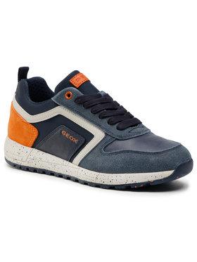 Geox Geox Sneakersy J Alben B. D J049ED 022FU C0820 S Granatowy