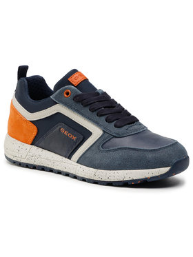 Geox Geox Sneakersy J Alben B. D J049ED 022FU C0820 S Tmavomodrá