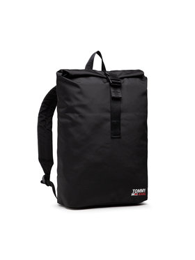 Tommy Jeans Tommy Jeans Rucksack Tjm Campus Roll Top AM0AM07502 Schwarz
