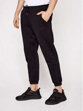 Sprandi Sprandi Teplákové nohavice SS21-SPM004 Čierna Regular Fit