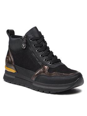 Rieker Rieker Sneakersy N7841-00 Czarny